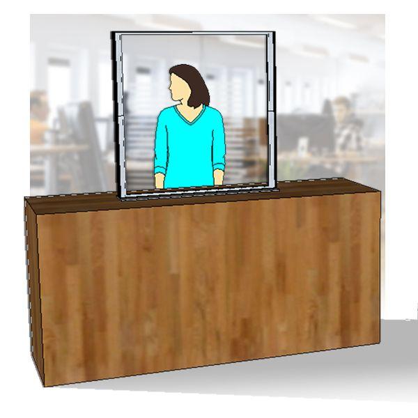 image du produit : Protection Vector-Cristex banque accueil