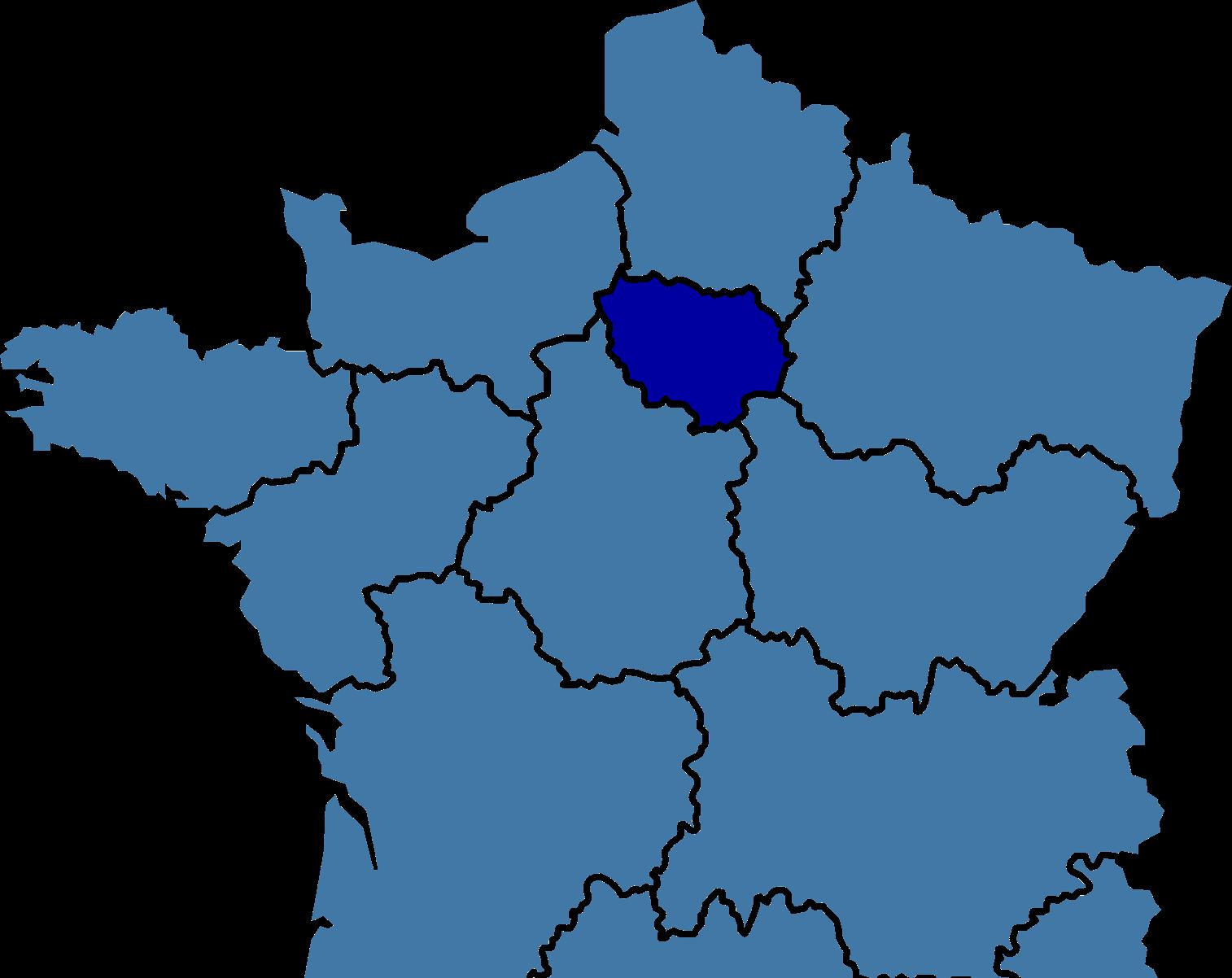 image carte de la France